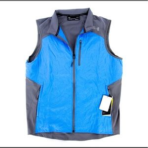 Under Armour Coldgear Reactor Vest Blue Outdoors